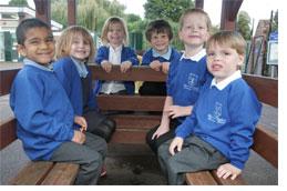 Pupils from Brimpton Primary